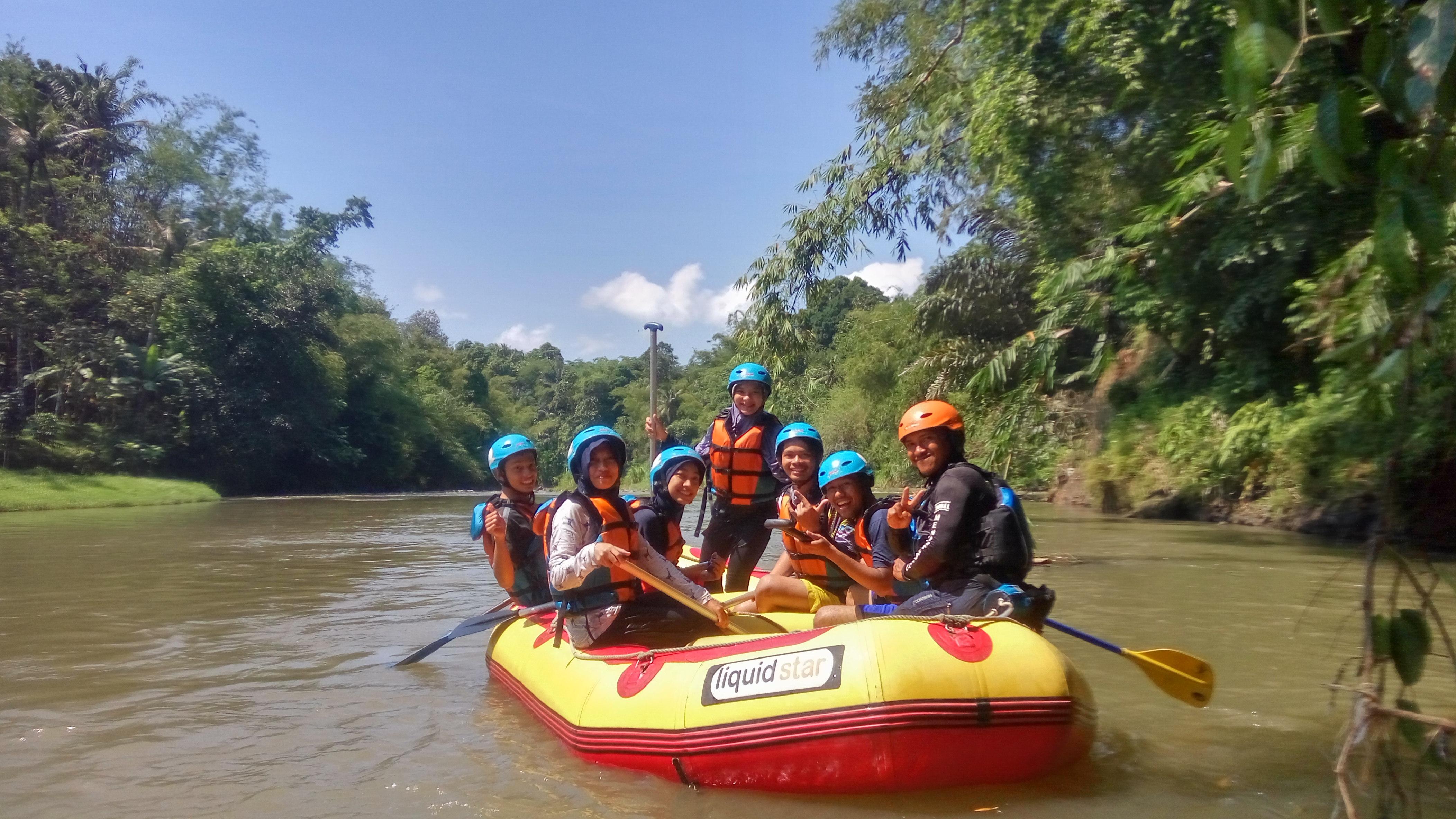 rafting mendut rafting arung jeram sungai elo rafting sungai elo